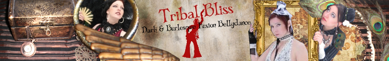 Tribal Bliss Steampunk Banner